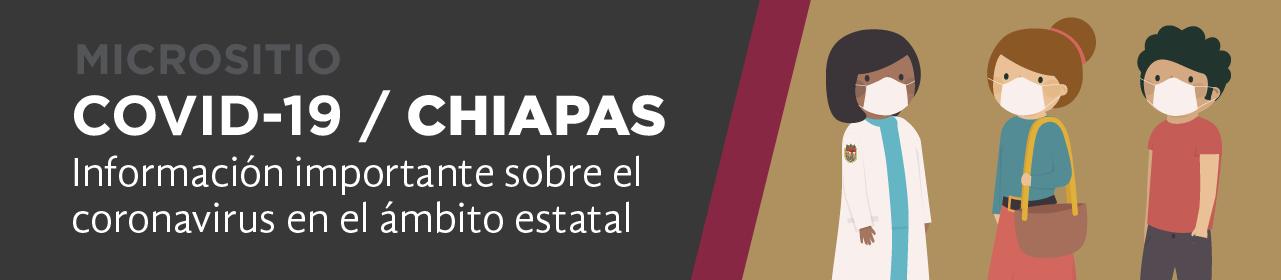 Micrositio coronavirus Chiapas