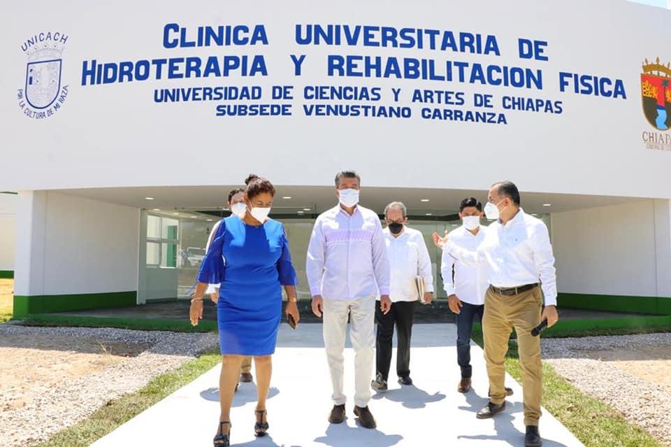 Inauguran Laboratorio de Hidroterapia de la Unicach, subsede Venustiano Carranza.jpg