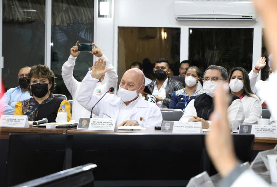 Comité Estatal de Seguridad en Salud aprueba protocolos sanitarios para comicios 2021.jpg