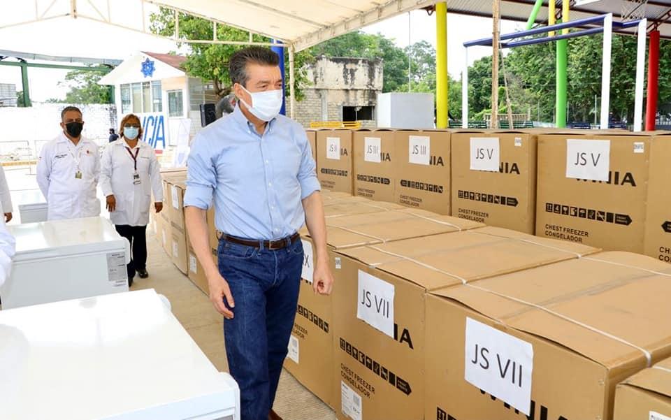 Con fortalecimiento a la Red de Frío, en Chiapas se garantizan vacunas anti COVID en óptimas condiciones.jpg