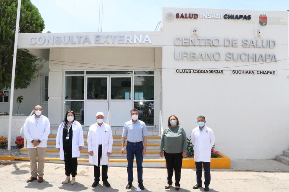 En Suchiapa, reconvierten Centro de Salud para mejorar atención médica.jpg