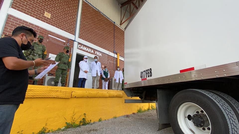 Llegaron a Chiapas 121 mil 600 vacunas contra COVID-19 este martes, informa Rutilio Escandón.jpg