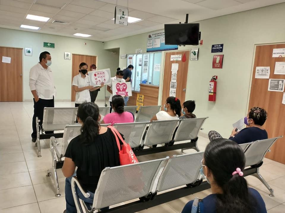 En marcha, Jornada estatal intensiva de detección oportuna de cáncer en la mujer.jpg