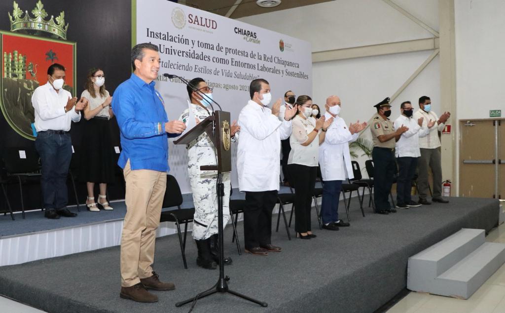Rutilio Escandón encabeza instalación de la Red Chiapaneca de Universidades a favor de la salud.jpg