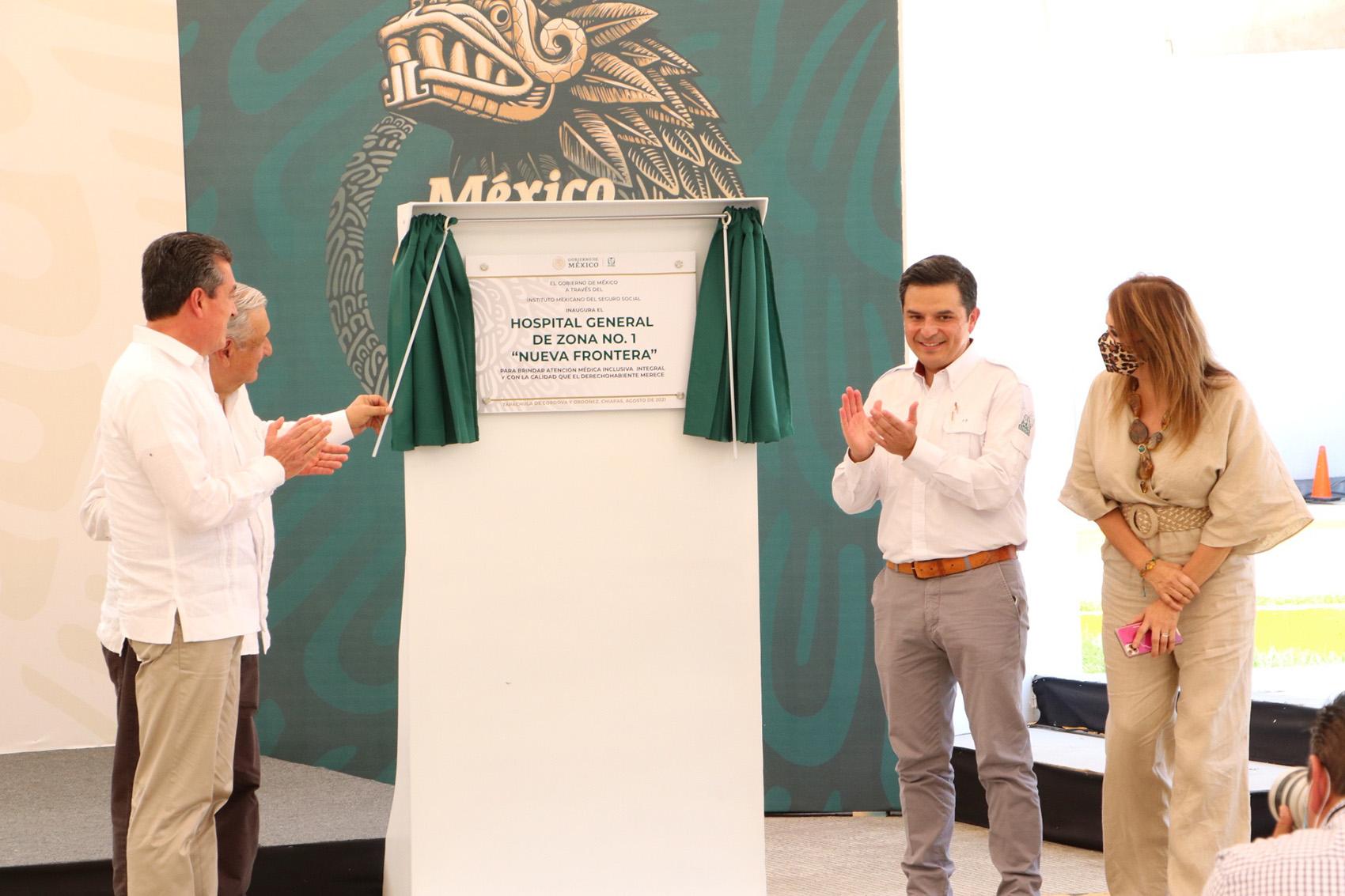 """Acompaña Rutilio Escandón a AMLO en la inauguración del Hospital del IMSS """"Nueva Frontera"""" en Tapachula.jpg"""