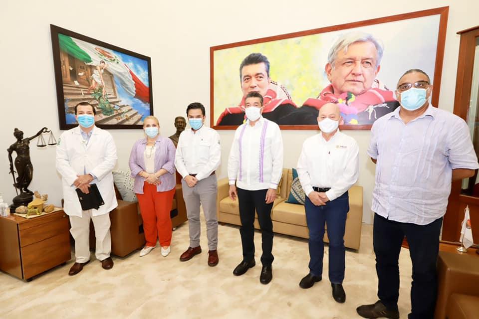 Rutilio Escandón y Zoé Robledo anuncian inicio de vacunación anticovid a adolescentes con comorbilidades.jpg